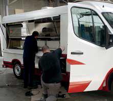 Le sur-mesure de l'aménagement des camions- magasins demeure la carte de visite de Masson PolyFroid.