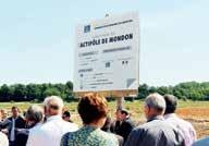 Initié en 2009, l'Actipôle de Mondon vise à créer une zone de développement économique pour le territoire du Lunévillois.