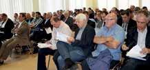 Pierre Nicora, le président de la Fédération du BTP a dénoncé la baisse des prix lors de la réunion des donneurs d'ordres en présence de la préfète Isabelle Dilhac et du sénateur Gérard Longuet.