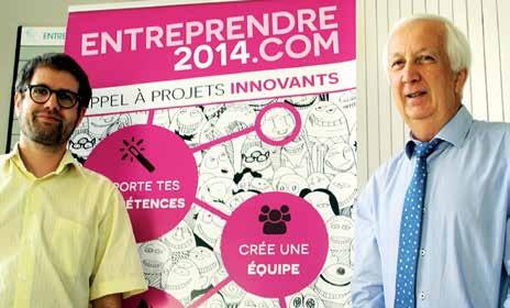 «Nous sommes dans une mutation de l'entrepreneuriat», assurent Nicolas Potier et Jacky Chef de Promotech.