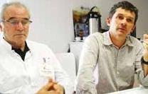 Les docteurs Philippe Tourrand et Christophe Baillet viennent d'annoncer d'importants travaux au sein de leur clinique d'Essey.