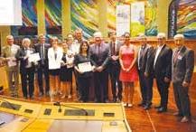 Les lauréats du Grand Prix VIE Lorraine.