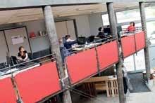 La Poudrière, l'espace de coworking nancéien situé boulevard du 26e RI.