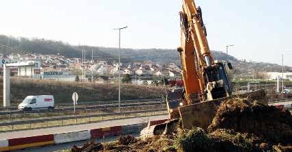Un emploi sur cinq pourrait être détruit dans le secteur des Travaux Publics. Plus d'une centaine pourrait disparaître en Lorraine.
