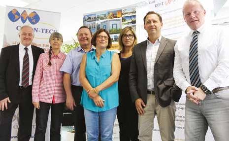 L'équipe du WTC Metz-Saarbrücken fin prête pour fêter dignement les vingt-cinq ans de l'association en Lorraine.