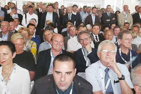Parmi les 7 000 chefs d'entreprise de l'université du Medef, les Lorrains étaient naturellement présents.
