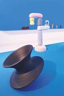 La scénographie de l'exposition à la galerie Poirel a été pensée par le Studio Robert Stadler, basé à Paris.