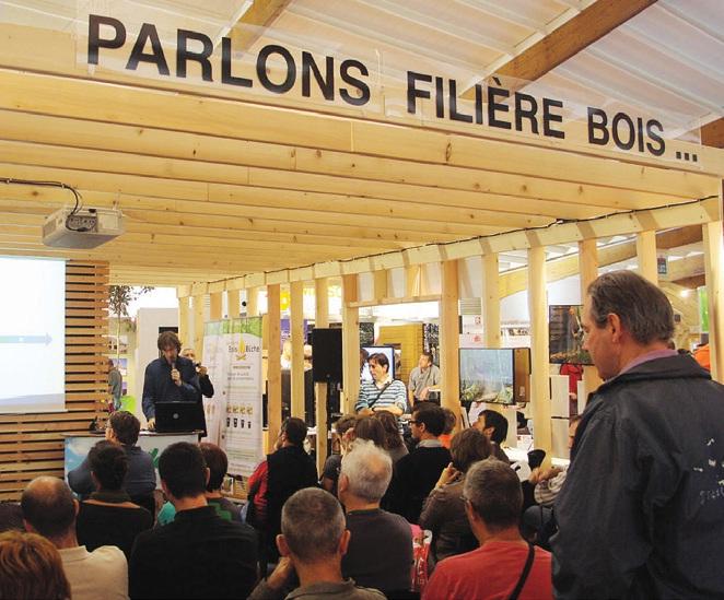 Toute la filière Bois a rendez-vous du 18 au 22 septembre à la 35ème édition du Salon Habitat et Bois.