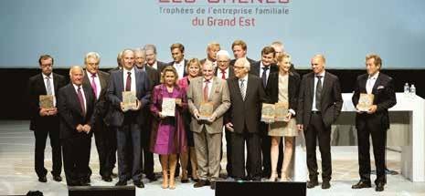 FM Logistic, Gris Découpage et la société de Buyer viennent d'être primées à la 1ère édition des Trophées, «Les Chênes du Grand Est», organisés par la Société Générale.