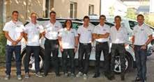 L'équipe de Nord Est Détection avec à droite, Valère Bazin, directeur et à sa droite (en chemise blanche), Thierry Evrard, gérant.