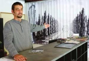 «Mon concept est novateur en Lorraine », indique l'imprimeur Richard Bally.