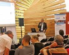 Conférences techniques tous les jours pour les professionnels à l'image de celle organisée par la CGPME des Vosges le premier jour du salon sur le dispositif «Appui PME- PMI».