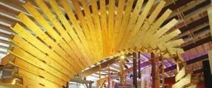 C'est sous la bannière du Gipeblor (Groupe interprofessionnel de promotion de l'économie du bois en Lorraine) que la filière bois de la région a mis en avant ses savoir-faire.
