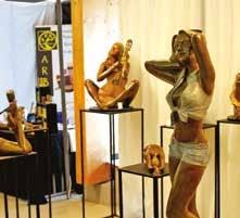 La galerie des métiers d'art a accueilli une dizaine d'artisans d'art réunis par la Mission Lorraine Métiers d'Art.