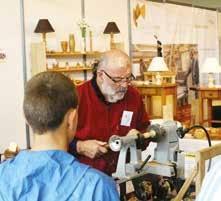 Le nouvel espace «Touchons du Bois» a permis de faire découvrir la diversité des métiers du bois.