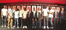 Soirée de prestige pour la présentation de l'équipe Sluc Nancy Basket