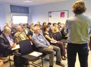 Présentation de l'offre de services par l'équipe créateurs de Nancy - Port de Plaisance.
