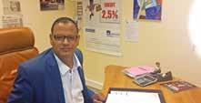 Bouchaïb Eddnifi, le directeur de l'agence Axa Pôle Europe, vingt années d'expérience dans l'assurance au service de ses clients, également vice-président de la CGPME Meurthe-et-Moselle Nord.