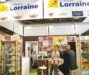 La Lorraine est bien présente au Sial à Paris jusqu'au 23 octobre.