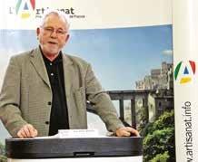 «Nous allons mieux accompagner nos artisans», assure Jean-Marie Benoît, le président de la CMA 54.
