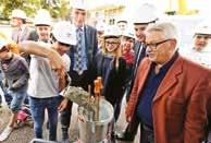 La 1ère pierre du nouveau collège Louis Marin à Custines vient d'être posée. Plus de 6 millions de travaux sont engagés.