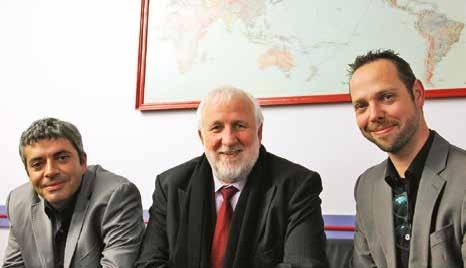 «La mutualisation était vitale», assure Jean-Marie Bellocchio (au centre), président de Minich SAS.