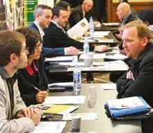 Une soixantaine d'experts étaient présents pour informer les porteurs de projet à la CCI 54 à Nancy.