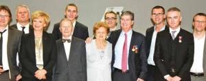 Le passage de relais a été officialisé à l'occasion de la remise des médailles du travail de la Fédération du BTP 54 le 7 novembre à Nancy.