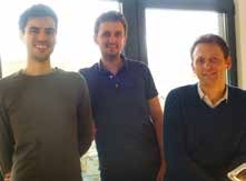 Pierre Malingrey et ses collaborateurs Valère Horath et Jérôme Gil guident avec succès la jeune PME Quipment.