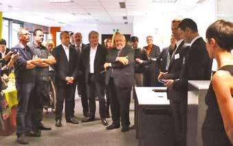 L'agence Randstad du 2 rue de la République à Nancy a été inaugurée le 16 octobre.