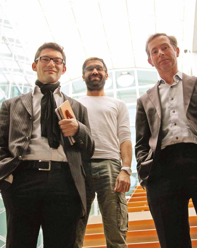 Stéphane Gégout, Arnaud Sinan Karaboga et Michel Souchet, le trio géniteur d'Harmonic Pharma: «Dans l'univers pharmaceutique, l'innovation passe par les PME»