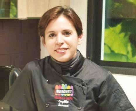 «Mon concept de pâtisserie haut de gamme à domicile se décline à l'événementiel entreprise», indique Sophie Siméon.