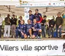 La Team Griff Auto, 2ème du Challenge Entreprises derrière Décathlon Nancy.