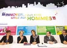 Convention signée entre GDF Suez et le Conseil régional de Lorraine sur le Salon des maires à Paris.
