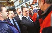 François Hollande de «retour» à Florange le 24 novembre dernier.