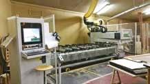 Machine à commande numérique Biesse Rover A acquise en 2009.