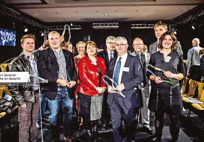 Six trophées et deux prix spéciaux ont été remis à l'occasion de la deuxième édition des Trophées de l'économie solidaire de Meurthe-et-Moselle.