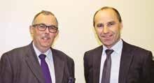 Joël Martin (à droite) succède à Pascal Jan à la présidence du Comité des banques 54.