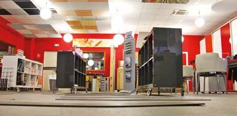 Un showroom de près de 200 m² permet de prendre connaissance de visu des différentes solutions proposées par Réso Est à Metz.