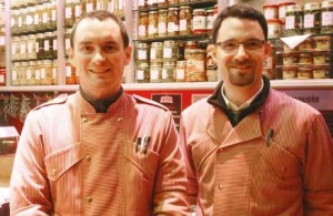 Samuel et Jean-Baptiste Chrétien sont à la tête de la boucherie «La Centrale» à Toul.