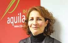 Rosalba Williams, gérante d'aquila RH à Vandoeuvre.
