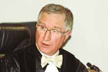 Yves Lesage, le président du Tribunal de Commerce de Nancy installera trois nouveaux juges.