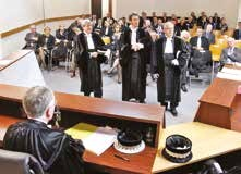 Stéphane Godard, Jean-Baptiste Mervelet et Philippe Riche viennent d'être installés dans leurs fonctions de juges.