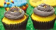 Alicia, chef internationale en provenance du Canada, développe toute une gamme de cupcakes.