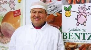 Jean-François Antoine, gérant des Salaisons Bentz, a su apporter une réussite exportatrice à une affaire originellement familiale et artisanale.