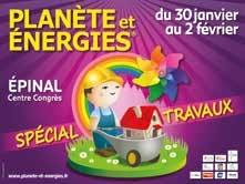 Travaux et climat au programme de la 8ème édition du salon Planète et Énergies à Épinal.