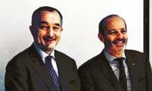 Lionel Guérin, pdg de Hop et David Pouyanne, président de Réseau Entreprendre.