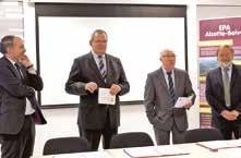 Convention signée pour le développement de l'attractivité sur le territoire d'Alzette-Belval.