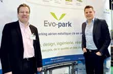 Nancy Construction a présenté sa nouvelle marque Evo-Park sur le dernier salon Urbest à Metz.