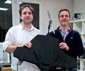 Éric Laurent et Thomas Legrand, les deux «papas» d'Eznov entendent «démocratiser» l'utilisation des drones chez les professionnels… et ailleurs.